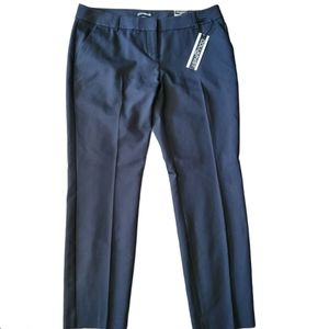 Express Columnist Ankle Black Trousers Size 10 R
